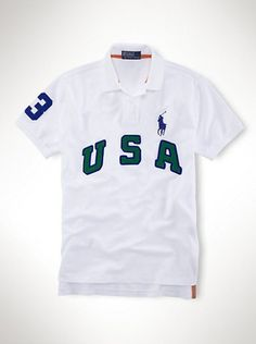 Ralph Lauren White Dubai Pony Short Sleeved Polo