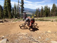 Northstar is Northern California's largest bike park featuring two lifts and a network that will keep every skill level content. Check it out! Best Mountain Bikes, Mountain Bike Trails, California Places To Visit, Alpine Meadow, Trail Guide, Bike Parking, South Lake Tahoe, Cross Country Skiing, Northern California