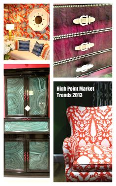 High Point Market - Decorating Trends by Bright Bold Beautiful