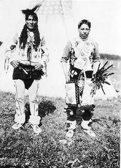 Cree men - circa 1910