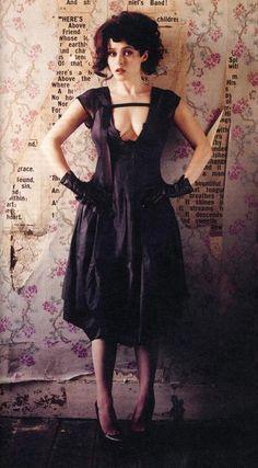 Helena Bonham Carter - dress love, backdrop would be awesome