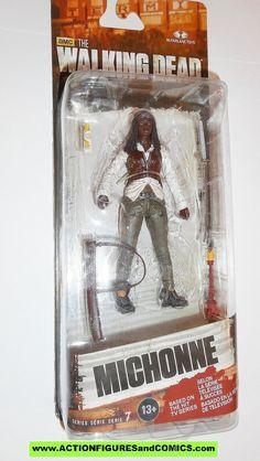 The Walking Dead MICHONNE series 7 mcfarlane toys action figures moc