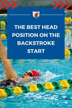 One of the most common problems we find with the backstroke starts is going too deep. While it is not unusual to go a little deeper on the backstroke start than on the freestyle start, the shortest distance between two points is still a straight line. One way to improve your backstroke start is to fix your head position. Learn how on our blog post! Breaststroke Swimming, Swimming Drills, Swimming Gear, Baby Swimming, Swimming Workouts For Beginners, Swim Workouts, How To Swim Faster, Teach Kids To Swim, Baby Swim Float