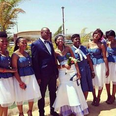Ja neh! African Wedding Attire, African Attire, African Fashion Dresses, African Dress, Setswana Traditional Dresses, African Traditional Wedding, Traditional Weddings, South African Weddings, African American Weddings