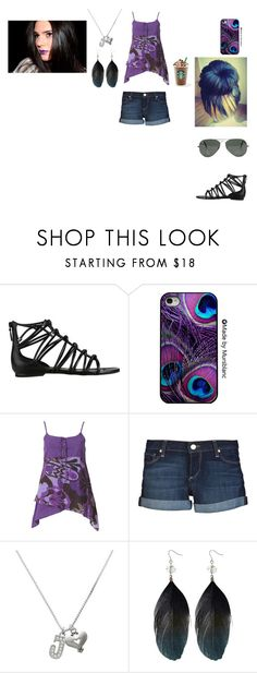 """""""StarBucks With Justin"""" by brigettelennahpayne ❤ liked on Polyvore featuring Cole Haan, Ray-Ban, Joe Browns, Paige Denim, Delight and Oasis"""