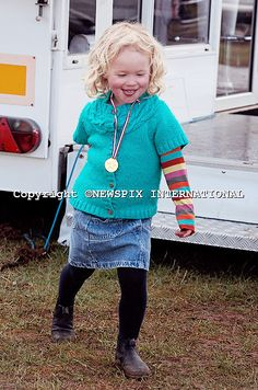 Savannah Phillips, March 2014 daughter of Peter and Amber Phillips, granddaughter of Princess Anne and Mark Phillips