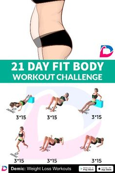 21 DAY Fit Body Challenge - Care - Skin care , beauty ideas and skin care tips Fitness Workouts, Fitness Motivation, At Home Workouts, Workout Abs, Body Challenge, Workout Challenge, Health Goals, Health Fitness, Natural Cold Remedies