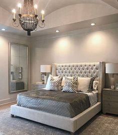 Home Interior 2019 Take a look at some contemporary bedroom design inspirations! Interior 2019 Take a look at some contemporary bedroom design inspir Grey Bedroom Decor, Home, Bedroom Makeover, Luxurious Bedrooms, Simple Bedroom Design, Modern Bedroom, Small Bedroom, Simple Bedroom, Remodel Bedroom