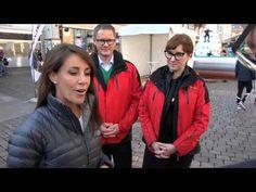 Princess Marie skiing in Aarhus as the patron of the Danish Ski Federation October 4, 2014