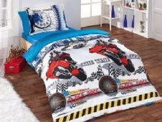 Old Race, For Boys, %100 Cotton, Duvet Quilt Cover Set, Twin/Single Size, 4 pcs   | eBay