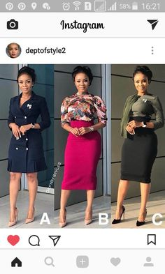 When classy is mentioned, a modest dressed up lady comes to most peoples mind. Stylish Work Outfits, Office Outfits Women, Classy Outfits, Chic Outfits, Fashion Outfits, Work Fashion, Skirt Fashion, Corporate Fashion, Corporate Attire Women