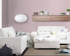 Alcro.se - Lingonshake Interior Design Diy, Home And Living, Couch, Bean Bag Chair, Furniture, Home Living Room, Sectional Couch, Wall Colors, Coffee Table