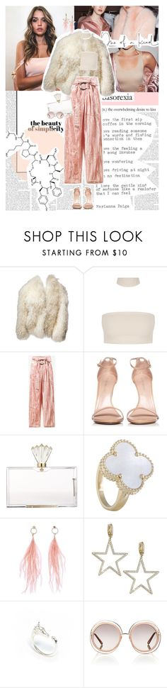 """I swear no matter what I touch it breaks so I no longer wanna see your face. ♥"" by sssdmr ❤ liked on Polyvore featuring Dollhouse, Oscar de la Renta, Rejina Pyo, Stuart Weitzman, Charlotte Olympia, Ana Accessories, Kate Spade, LeiVanKash and Chloé"