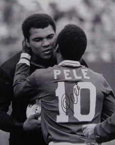 Muhammad Ali and Pele