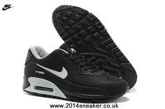 wholesale dealer 97429 f8721 en ligne Nike Air Max 90 Hommes Chaussures HYP PRM KPU TPU 2014 New Noir  Blanc