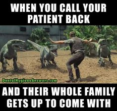Just happened yesterday. 5 total I said only two can come back lol. Life of a medical assistant