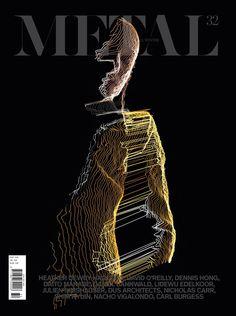 METAL magazine. Striking.