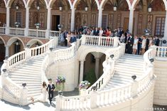 Andrea Casiraghi and Tatiana Santo Domingo were married in a private ceremony in Monte Carlo.