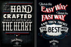 Awesome work for Jack Daniel's by Rob Sutton