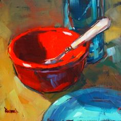 Another painting by Cathleen Rehfeld