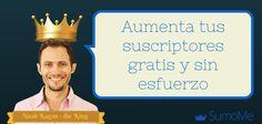 Aumenta tu lista de suscriptores gratis y sin esfuerzo con SumoMe