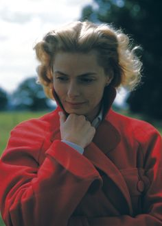 Ingrid Bergman, photographed by Yul Brynner.