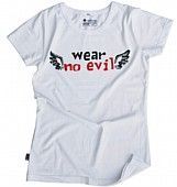 Etiko WearNoEvil White Women's - Fairtrade