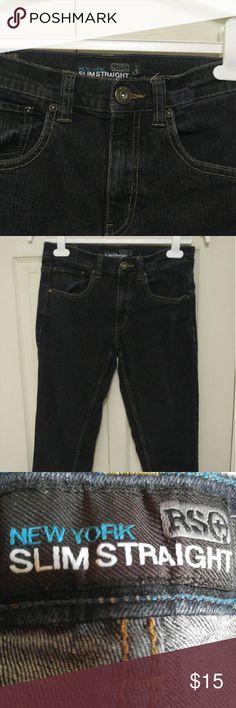 RSQ Women's Jeans 29X30 slim straight New York Slim Straight Jeans by RSQ RSQ Jeans Skinny