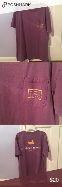 Southern Marsh Authentic Collegiate Tee Southern Marsh   Authentic Collegiate Tee   Men's Large   EUC   NO TRADES Southern Marsh Shirts Tees - Short Sleeve