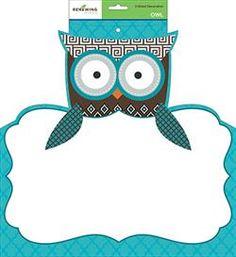 Owl 2-sided Decoration