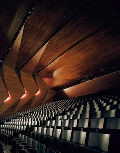 The Tiroler Festspiele Erl's new Festival Hall by Delugan Meissl Associated Architects