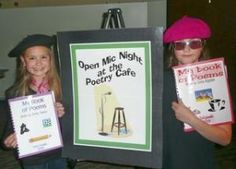 Poetry Cafe- My kids & parents loved this! Used it as the celebration for the end our our poetry unit.