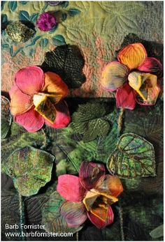 Textile art.   A great example.