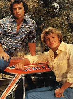 The Dukes of Hazzard! I remember watching this with my brother. Even had a plastic wallet with their faces on it lol #80s #memories