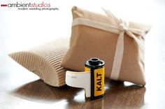 Unique Wedding Invitations Film Canister
