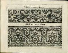 Image result for blackwork embroidery brass rubbing