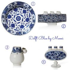 Interiors Trend : Definitely Delft. Delft Blue by Marcel Wanders for Moooi