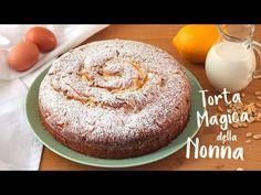 TORTA MAGICA DELLA NONNA   con crema pasticcera   grandma's magic cake  Lorenzo in cucina - YouTube Italian Desserts, Italian Recipes, Torte Cake, Cheesecake Cake, Chocolate Muffins, Coffee Cake, Cake Cookies, Vanilla Cake, Deserts