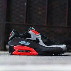 "Nike Air Max 90 ""Black/Crimson"""