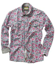 fddcc33828b98 Joe Browns Ballyhoo Shirt - wild wacky floral print that makes this shirt  perfect for summer