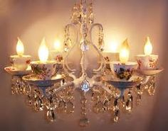 teacup chandelier - Google Search