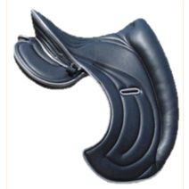 OMEGA Mercedes saddle, wide surface, adjustable chamber width, Schulterfreihheit