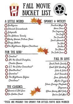 Self-Care: Fall Movie Bucket List! Th… Self-Care: Fall Movie Bucket List! Th…,hipsterstyle Self-Care: Fall Movie Bucket List!
