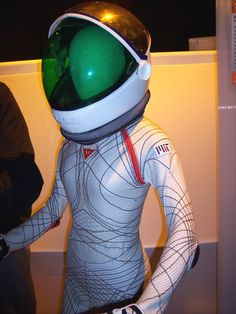 "Do want naow. For my next party. ""next gen space suit. not sci-fi, real."""