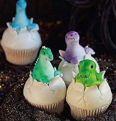 Dinosaur Cupcakes..