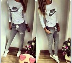tights nike jogginghose sweatpants grey grey sweatpants nike sweater sweater cardigan bag