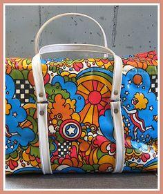 Mod •~• vintage  Peter Max bag
