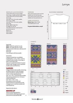 "Photo from album ""The Knitter on Yandex. Fair Isle Chart, Jumper Patterns, Circular Needles, Views Album, Periodic Table, Diagram, Knitting, Yandex Disk, Charts"