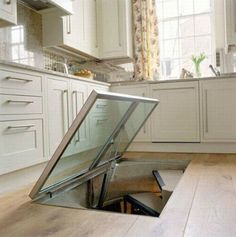 They Noticed A Door In The Floor Of Their Kitchen. I Couldn't Believe What Was…