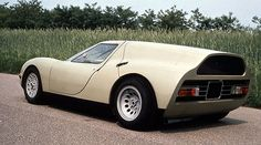 Classic Concepts: 1966 Alfa Romeo Scarabeo by OSI